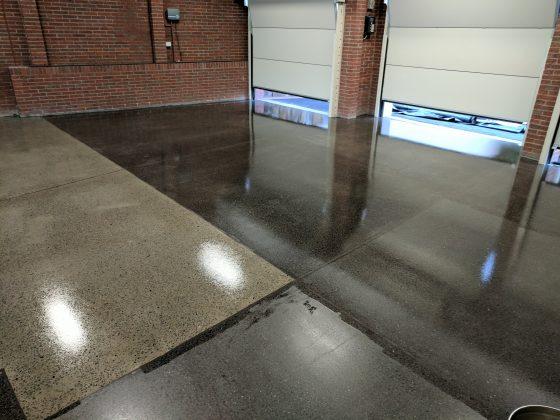 Mechanical Polished Floor ( Burnished )